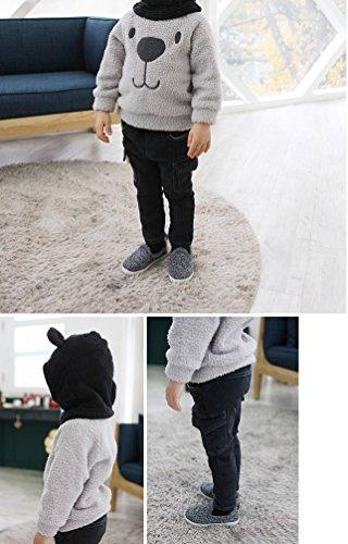 e992586a6b90 BOGIWELL Unisex Baby Girl Boy Autumn Winter Soft Furry Thick Bear ...