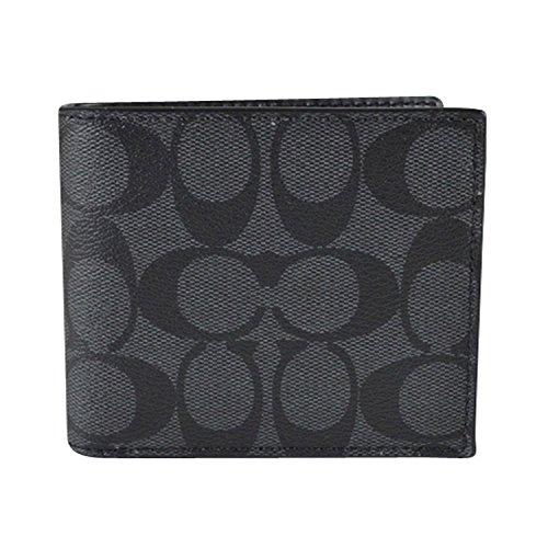 Coach Mens PVC Short Wallet
