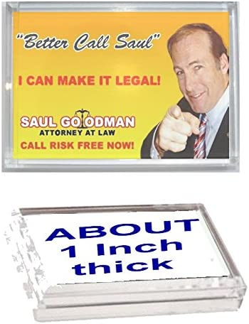Better Call Saul Goodman Breaking Bad Acrylic Executive Display Piece or Desk Top Paperweight