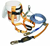Titan B-Compliant Fall Protection Complete Roof Kit with 50-Foot Lifeline (TRK2000/50FT)