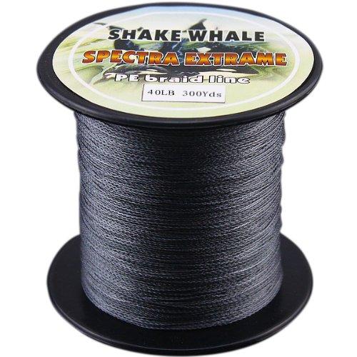 品質満点! Shake 100-percent Whale 100-percent PE Good品質Briad編組釣りライングレー40lb PE 300ydsヤード B00EPQVTK0 B00EPQVTK0, ごまのオニザキ:c6306a96 --- a0267596.xsph.ru