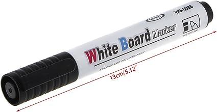 Rouge sunnymi Stylo Tableau Blanc.3MM Marque Effa/çable /à Sec Effa/çable pour Tableau Blanc Stylo /étudiant Bullet en Feutre Stylo Signature 4 Couleur Convient Aux Bureaux D/école