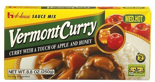 Japanese Curry - Vermont Curry Medium Hot 8.11 Oz (230g)