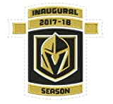 GOLDEN KNIGHTS PATCH INAUGURAL SEASON 2017-18 GAME PUCK STYLE STANLEY CUP
