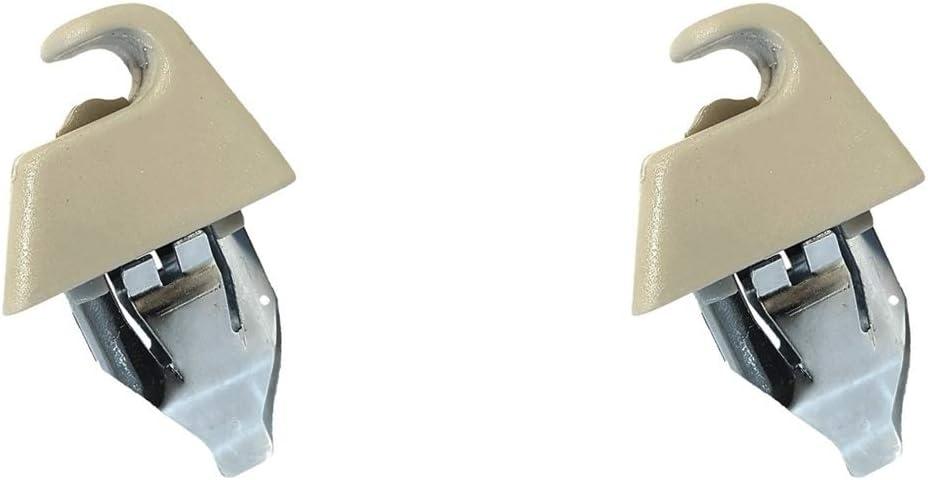 Autocommerse 2 Stück Sonnenblende Halterung Haken Clip Sonnenschutz Aufhänger Für Astra H Zafira B Vectra C Signum Autozubehör Auto