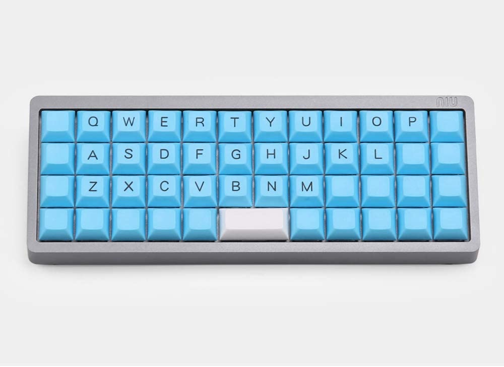 SSSLG DSA Keycaps 48 PBT Keycaps 5 Colors to Choose from,2 NIU Mini40 Keycaps