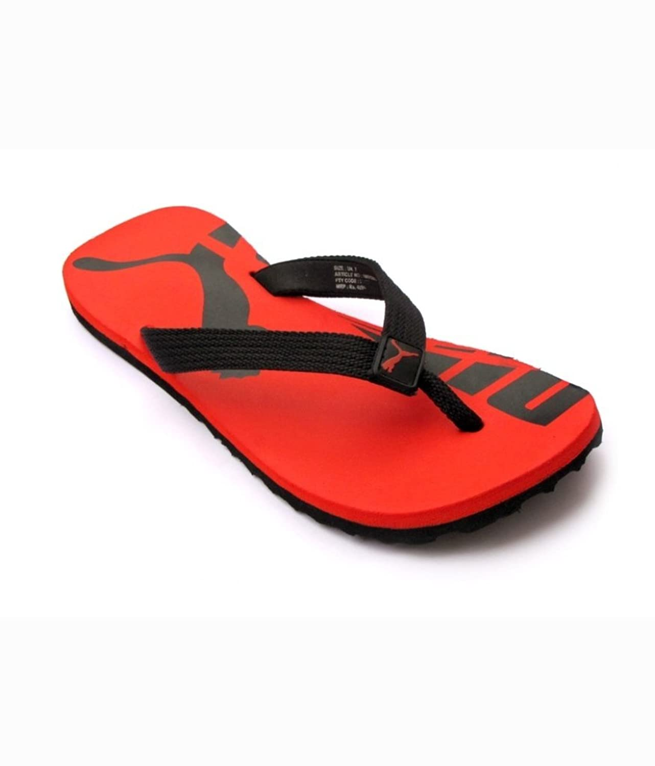 Puma Men's Red Synthetic Flip Flops (SC005_10UK): Buy Online at Low Prices  in India - Amazon.in