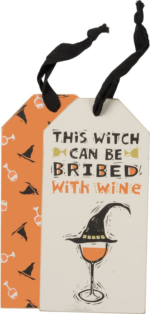 Bottle Tag - This Witch, Set of 3