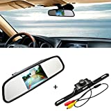 iMeshbean 4.3″ TFT LCD Monitor Car Rear View System Backup Reverse Camera Night Vision Kit Review