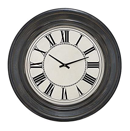 Buy Deco 79 89242 Wood Wall Clock Online at Low Prices in India ...