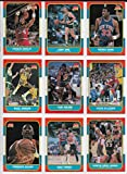 1986 Fleer Basketball Complete 132 Card Set with