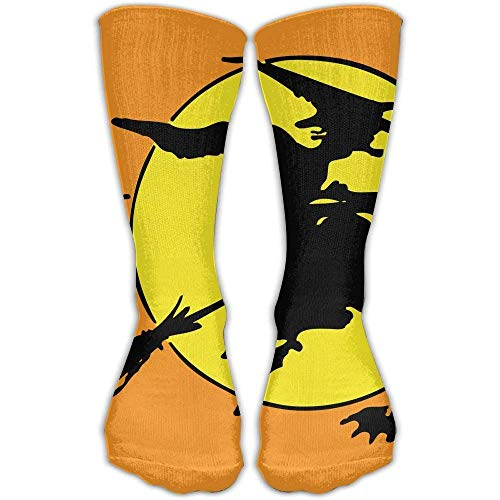Women Athletic Warm Stockings Halloween Witch & Men Soccer Popular Cool Over The Knee Novelty Socks ()