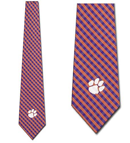 Clemson Tigers Ties Mens College Sports Necktie