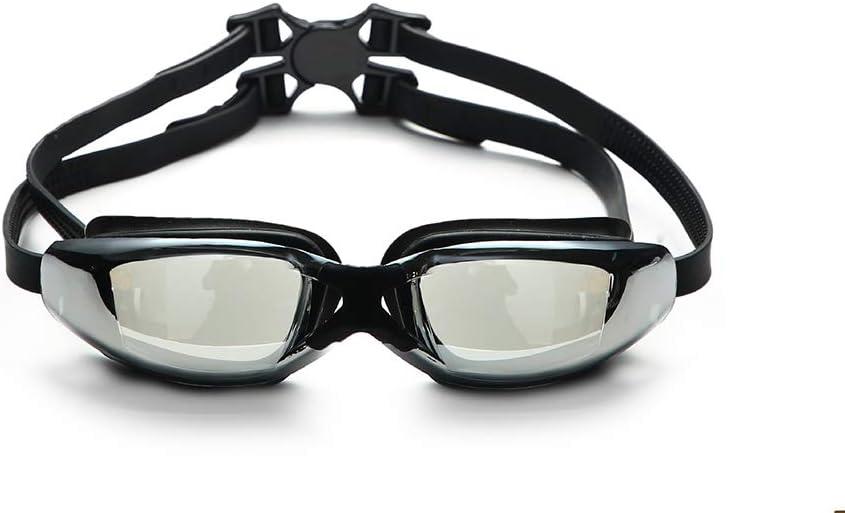 Gafas De Natación, Profesional Competencia Al Aire Libre En El Interior Gafas Antivaho Protección contra La Radiación Ultravioleta para Adultos Hombres Mujeres
