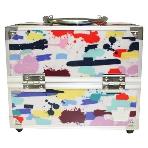 Caboodles Adored Four Tray Makeup Train Case, 2.45 Pound by - Stores Mall Plano