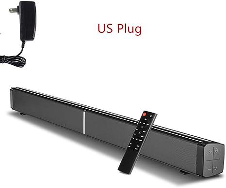 JSX Sistema de Sonido de TV 40W Barra de Sonido Bluetooth 5.0 de Cine en casa, AUX óptica Bass 4 Altavoces Barra de Sonido con Bluetooth para la TV 3 Efecto DSP: