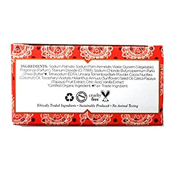 Nubian Heritage Soap Bar Coconut Papaya Pack Of 6