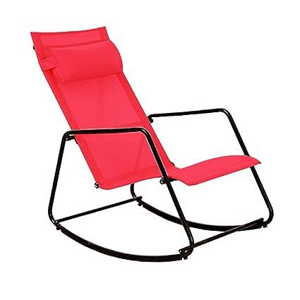 Folding chair LVZAIXI Sillas mecedoras Mecedora Sillón ...