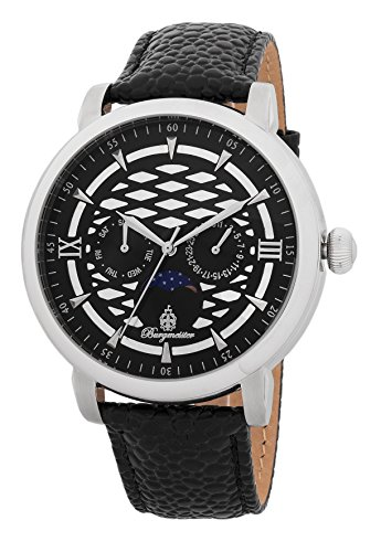 Burgmeister Men's BM217-122 Analog Display Quartz Black Watch