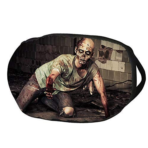 Fashion Cotton Antidust Face Mouth Mask,Zombie Decor,Halloween Scary