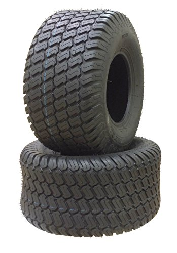 SET OF TWO AIRLOC 23X8.50-12 23X8.50X12 HEAVY DUTY 6 Ply Rated Tubeless MT Turf Tires