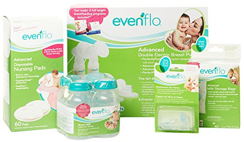 Evenflo Feeding Advanced Breast Pump Essentials Set