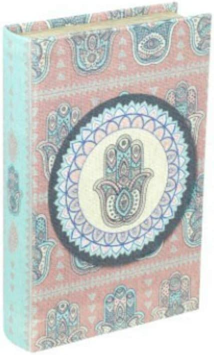 CAPRILO. Caja Libro Decorativa de Madera Mano de Fátima. Cajas ...