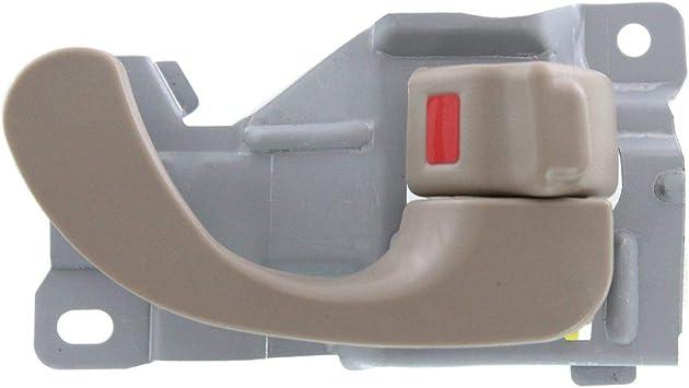 Door Handle Exterior Black Rear Passenger Side Right RH for Galant Mirage