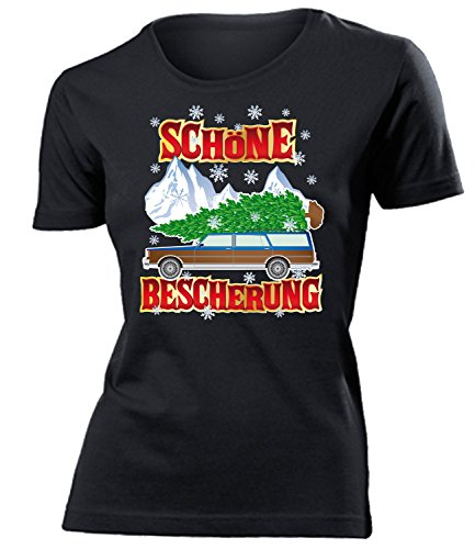 WEIHNACHTEN - FAMILY CHRISTMAS GRISWOLD - Cooles Fun mujer camiseta Tamaño S to XXL varios colores Negro