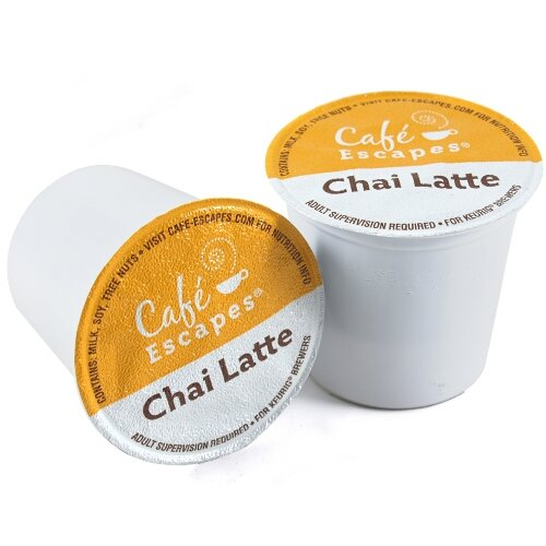 Keurig K-Cups Caf? Escapes Chai Latte
