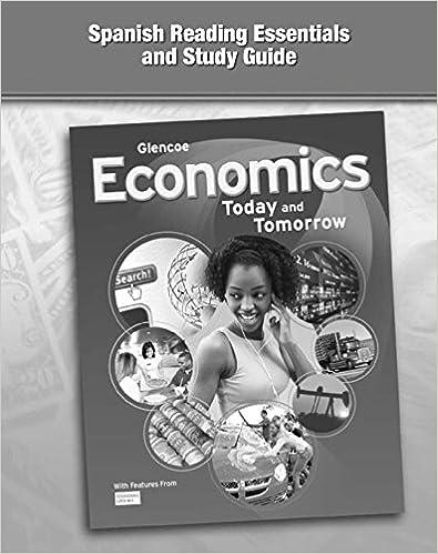 Economics: Today and Tomorrow, Spanish Reading Essentials