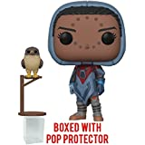 Funko Pop! Games: Destiny - Hawthorne with Hawk Vinyl Figure (Bundled with Pop Box Protector Case)
