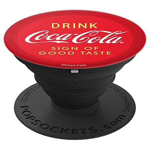 Coca-Cola Drink Coca-Cola Sign Of Good Taste Coke Patch - PopSockets Grip and Stand for Phones and Tablets