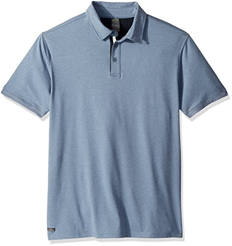 Quiksilver Waterman Men's Reel Backlash Polo, Blue Shadow Heathered, S ()