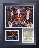 NCAA Duke Blue Devils 2015 Basketball National Champions Legends Never Die Collage Framed Photo Collage, 11'' x 14'', Black
