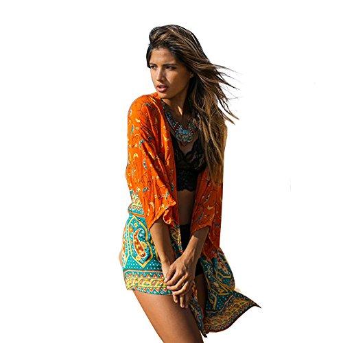 Zoye Chen - Camisola - para mujer naranja