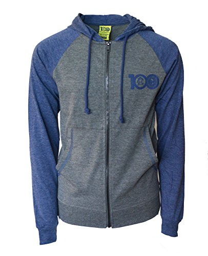 Club America Hoodie Centenario Fz Summer Light Zip up Jacket Grey Youth (Grey, YXL) (America Kids Club Jacket)