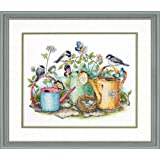 Dimensions Needlecrafts Stamped Cross Stitch, Watering Cans