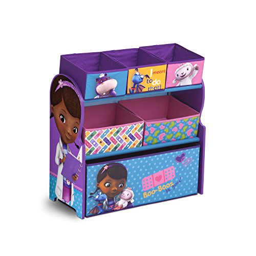 Paw Patrol Kids Toy Organizer Bin Children S Storage Box: With MK Delta Children Multi-Bin Toy Organizer, Nick Jr