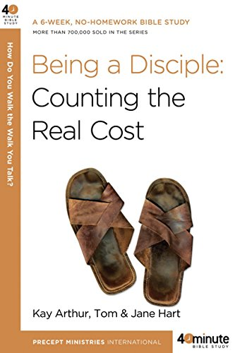 Being a Disciple (40-Minute Bible Studies) for $<!--$4.00-->