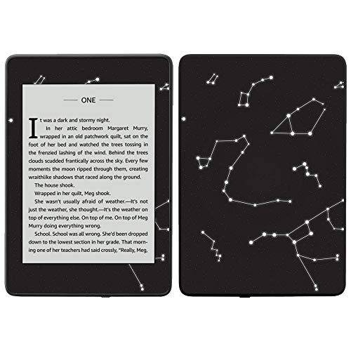 MightySkins Skin for Amazon Kindle Paperwhite 2018 (Waterproof Model) - Constellations | Protective