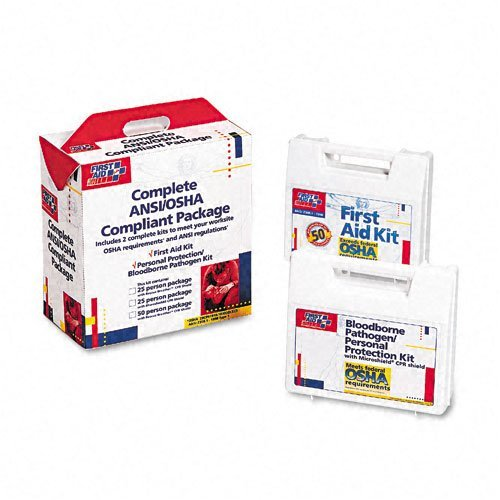 First Aid Only 50-Person Complete First Aid Kit
