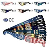 #7: 5 Pack: Baader Planetarium Solar Viewer AstroSolar Silver/Gold Eclipse Glasses / Shades for Solar Eclipse # 2459294