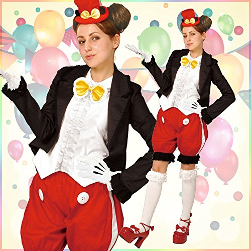 Disney Mickey Mouse Costume - Alt Style - Unisex Adult Costume by Steampunk (Image #1)