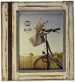 Cheap PRINZ Rustic River Wood Frame in Distressed White Finish, 8 by 10-Inch