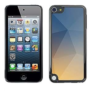 MOBMART Carcasa Funda Case Cover Armor Shell PARA Apple iPod Touch 5 - Sunlight Gray Crystal Boxes