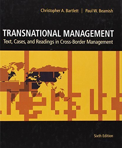 Transnational Management: Text