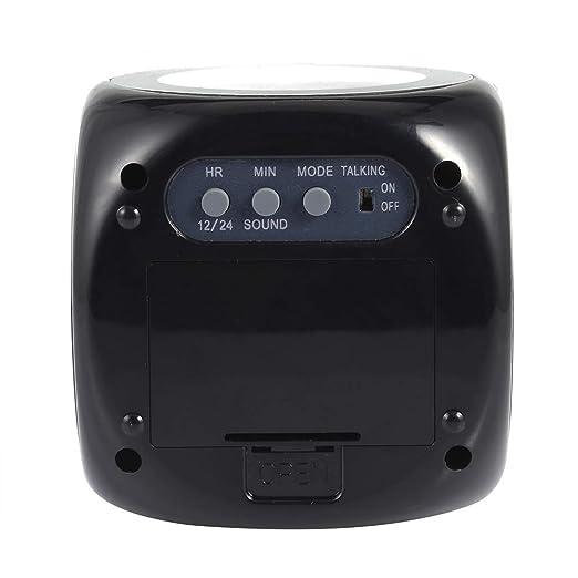 Amazon.com: Reloj Time – Reloj despertador original Vibe Lcd ...