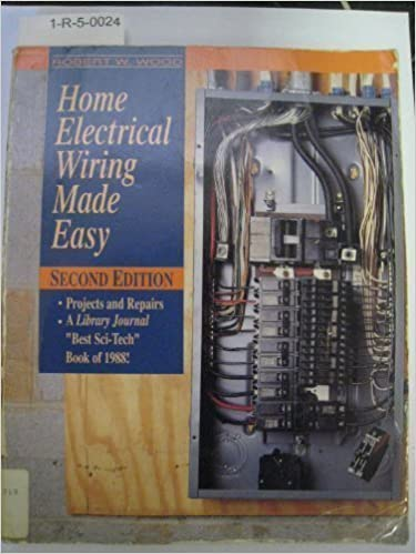 Home Electrical Wiring Made Easy Wood Robert W 9780830641888 Amazon Com Books