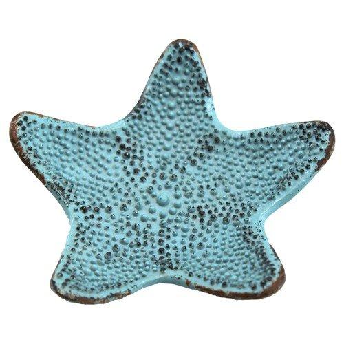 LITTLE STARFISH TRAY BLUE 4.25 Dia x .75